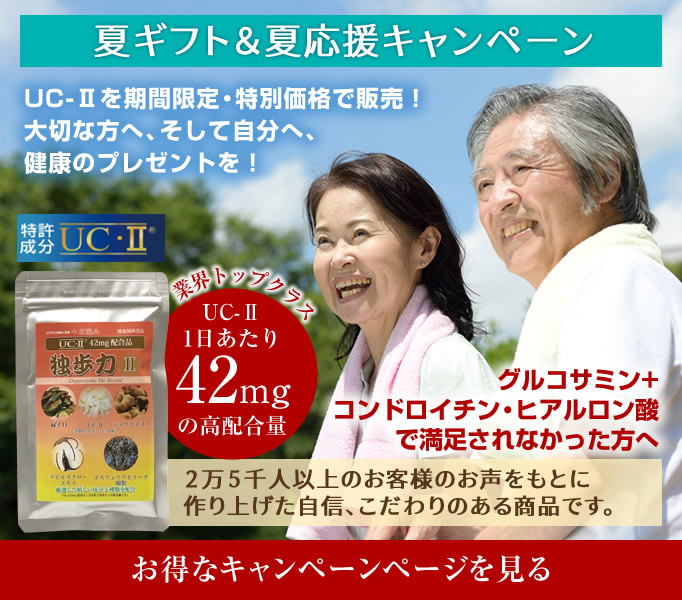 「独歩力2」父の日・夏ギフトキャンペーン